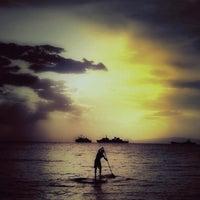 Photo taken at Ακτή του Ήλιου by Xaroulis on 10/6/2012