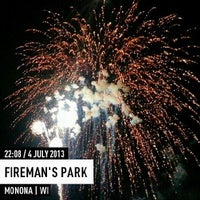 Photo taken at Fireman's Park by Shawn B. on 7/5/2013