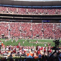 Photo taken at Bryant-Denny Stadium by Meagan M. on 11/17/2012
