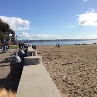 Photo taken at Capitola Beach by Dan B. on 11/10/2012