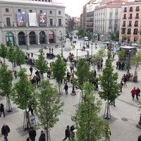 Photo taken at Plaza de Isabel II by Joschka F. on 4/30/2013