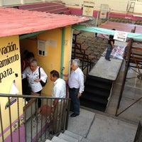 Photo taken at Municipio Emiliano Zapata by Myriam A. on 10/13/2012