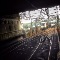 Photo taken at Xinzhuang Metro Station by Schneider H. on 1/18/2014