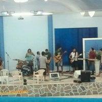 Photo taken at Igreja da Paz by Renato S. on 2/2/2013