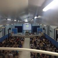 Photo taken at Igreja da Paz by Renato S. on 10/20/2013