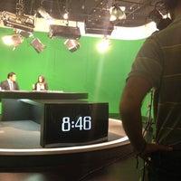 Photo taken at Cabina de Producción Noticias by fanny h. on 11/22/2013