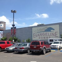 Photo taken at Evangeline Downs Casino by Brad W. on 7/2/2014