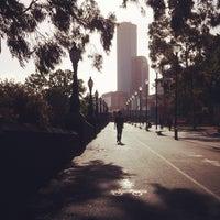 Photo taken at River Terrace by Chiara A. on 11/23/2012