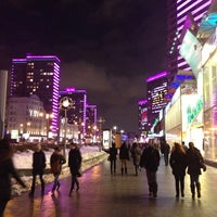 Photo taken at New Arbat Street by Ksenia E. on 2/2/2013