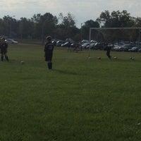 Photo taken at St. John's Soccer Playfield by Leslie L. on 9/7/2013
