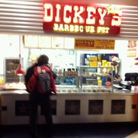 Photo taken at Dickey's Barbecue Pit by Bo A. on 10/29/2012
