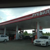 Photo taken at АЗС Лукойл №16001 by Атиф on 7/7/2013