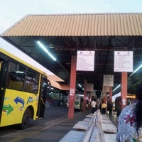 Photo taken at Terminal Rodoviário Urbano by Rodrigo G. on 10/21/2012