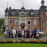 Photo taken at Kasteel van Huizingen by Peter V. on 8/15/2017