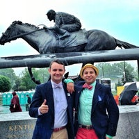 Photo taken at The Kentucky Derby 139 by Matthew G. on 5/4/2013