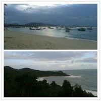 Photo taken at Praia da Penha by Julia L. on 10/13/2012