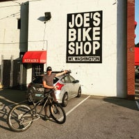 Photo taken at Joe's Bike Shop - Mt Washington by Greg R. on 8/15/2015