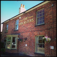 Photo taken at The Cricketers by Eoin L. on 6/8/2013