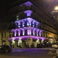 Photo taken at Hôtel Baltimore by Eoin L. on 12/17/2012