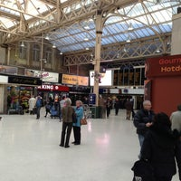 Photo taken at Charing Cross Railway Station (CHX) by Eoin L. on 1/30/2013