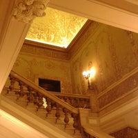 Photo taken at Palazzo Zevallos Stigliano by Nubia A. on 2/28/2014