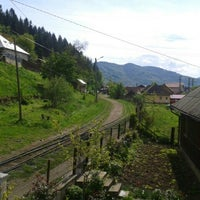Photo taken at Vișeu de Sus by Sara P. on 5/3/2014