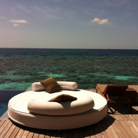 Photo taken at W Retreat & Spa - Maldives by Mandy J. on 5/13/2012