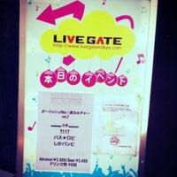 Photo taken at LIVE GATE TOKYO / ライブゲート トウキョウ by Nana K. on 8/23/2012