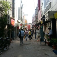Photo taken at Khan Market by Silvia V. on 10/8/2012