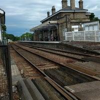 Photo taken at Saxmundham Railway Station (SAX) by Bruce P. on 7/6/2017