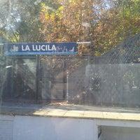 Photo taken at Estación La Lucila [Línea Mitre] by Christiaan M. on 4/21/2013