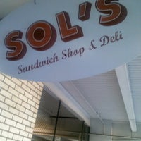 Photo taken at Sol's Deli by Karlos D. on 11/13/2012