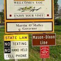 Photo taken at Mason-Dixon Line by Pete M. on 4/8/2017