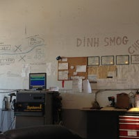 Photo taken at Dinh's Smog Check by Kyle O. on 11/9/2013