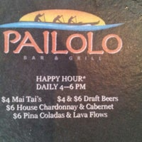 Photo taken at Pailolo Bar & Grill by Chris B. on 10/18/2012