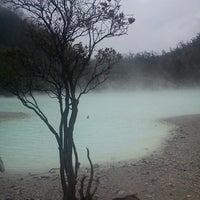 Photo taken at Kawah Putih by Astriani W. on 2/5/2013