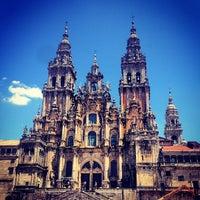 Photo taken at Catedral de Santiago de Compostela by Allie B. on 7/25/2013