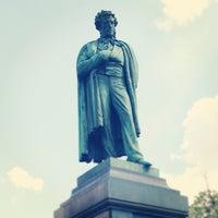 Photo taken at Памятник А. С. Пушкину by Dmitry C. on 5/12/2013