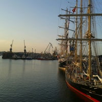 Photo taken at Black Sea Tall Ships 2014 by Maria Eliza B. on 5/25/2014