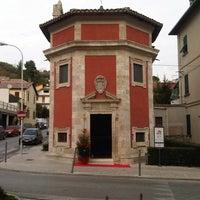 Photo taken at Tempietto di Sant'Emidio Rosso by Pietro V. on 12/15/2013