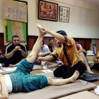 Photo taken at ITM - International Training Massage School by Lívia Aguiar on 10/5/2015