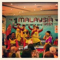 Photo taken at malaysia week by Aleksandr S. on 10/20/2012