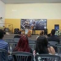 Photo taken at Igreja Batista Getsêmani by Cassius O. on 10/21/2012