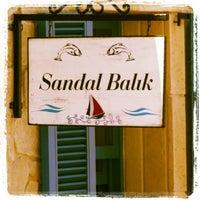 7/16/2013 tarihinde Didem A.ziyaretçi tarafından Sandal Balık Evi'de çekilen fotoğraf