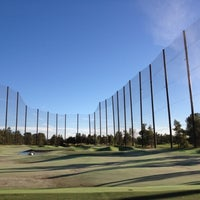 Photo taken at Desert Pines Golf Club and Driving Range by Jeremy S. on 10/18/2012