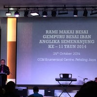 Photo taken at Council of Churches of Malaysia, No 10, Jalan 11/9 PJ by Alex A. on 10/24/2014