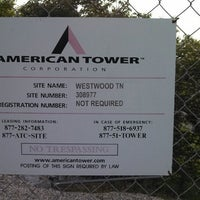 Photo taken at American Tower Corp - Westwood by Tyler R. on 5/1/2013