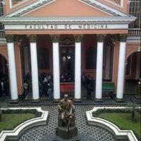 Photo taken at Facultad de Medicina San Fernando (UNMSM) by Lucho N. on 9/27/2012