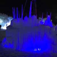 Photo taken at Midway Ice Castles by Cathy S. on 2/1/2017