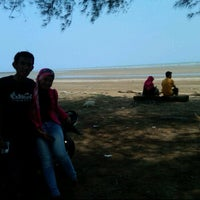 Photo taken at Ambalat Beach by Nur R. on 9/19/2012